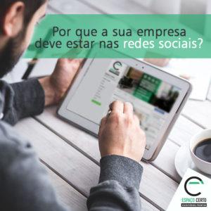 A importância das redes sociais para empresas - Espaço Certo Santos