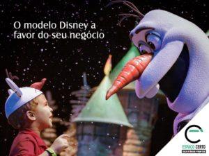 A Disney e o seu negócio! - Espaço Certo Santos