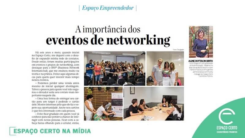 A IMPORTÂNCIA DOS EVENTOS DE NETWORKING