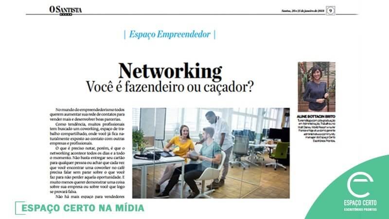 NETWORKING – VOCÊ É FAZENDEIRO OU CAÇADOR